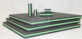 TriCore Rubber Foam Pad Isolators