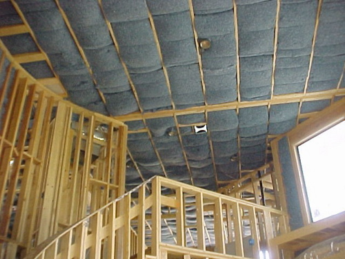 UltraTouch Insulation Ceiling