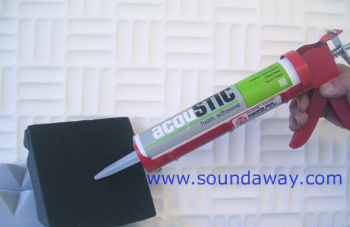 Soundaway Acoustic Adhesive For Sound Absorbing Panels