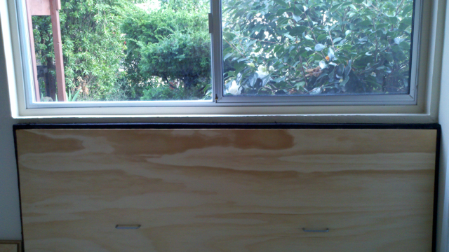 SoundAway Window Plug Backer Board