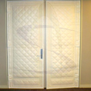 Custom Noise Barrier Door Cover & SoundAway Acoustical Door Cover - Noise Barrier pezcame.com