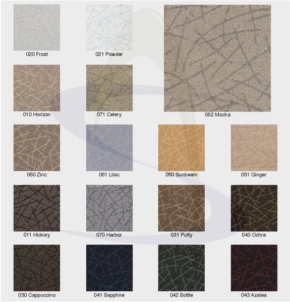 Network Fabric Color Chart